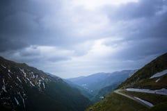Passagem da montanha alta imagem de stock royalty free
