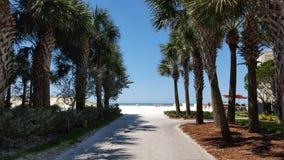 Passagem da praia Imagens de Stock