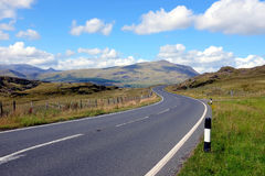Passagem de Crimeia, Snowdonia, Gales norte fotos de stock royalty free