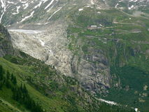 Passagem de Furka, Switzerland Imagem de Stock Royalty Free