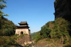 Passagem de Jianmen imagem de stock royalty free