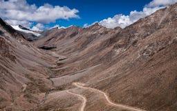 Passagem de Khardungla Imagens de Stock Royalty Free