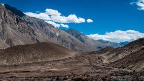 Passagem de Khardungla Imagem de Stock
