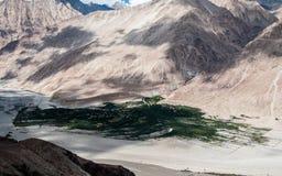 Passagem de Khardungla Imagem de Stock Royalty Free