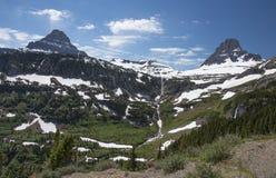 A passagem de Logan, parque nacional de geleira, EUA imagens de stock royalty free