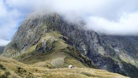 Passagem de Mackinnon, trilha de Milford, Nova Zelândia. Fotografia de Stock