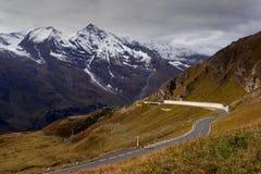 Passagem de montanha Fotos de Stock Royalty Free