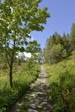 Passagem de montanha de Montets imagens de stock royalty free