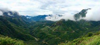 Passagem de montanha de O Quy Ho Fotos de Stock Royalty Free