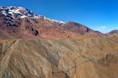 Passagem de montanha de Tiz n Tichka Fotos de Stock Royalty Free