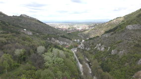 Passagem de montanha em Bulgária vídeos de arquivo