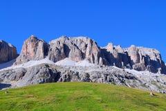 Passagem de Pordoi, Trentino, Italy Imagem de Stock Royalty Free