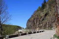 Passagem de Schlucht, Alsácia Imagem de Stock