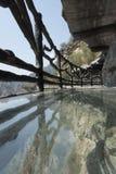 Passagem de vidro Fotografia de Stock