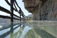 Passagem de vidro no Pequim de Shidu Fotografia de Stock