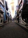 Passagem do avião Imagem de Stock Royalty Free