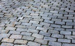 Passagem do Cobblestone Fotos de Stock Royalty Free