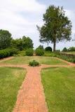 Passagem do jardim Fotos de Stock Royalty Free