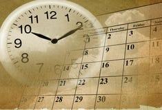 Passagem do tempo Imagens de Stock