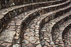 Passagem do tijolo da curva Foto de Stock