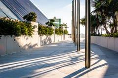 Passagem em Convention Center imagens de stock royalty free