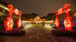 Passagem em Guangzhou, China Imagem de Stock