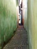 Passagem estreita Fotografia de Stock