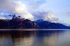 Passagem interna Alaska Fotografia de Stock Royalty Free