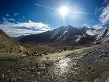 passagem khardunglar Imagem de Stock