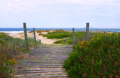 Passagem litoral Fotografia de Stock Royalty Free
