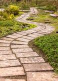 Passagem no jardim Imagem de Stock