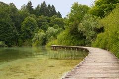 Passagem no lago. Imagens de Stock Royalty Free