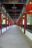 Passagem no templo de bambu Foto de Stock Royalty Free