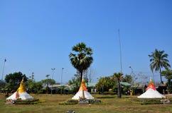 Passagem ou Dan Chedi Sam Ong de três pagodes Fotografia de Stock