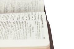 Passagem popular da Bíblia para o dia e o casamento de Valentim do St. Fotos de Stock Royalty Free