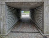 Passagem subterrânea ao lago Konstance fotos de stock