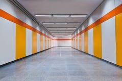 Passagem subterrânea do pedestre Imagens de Stock Royalty Free