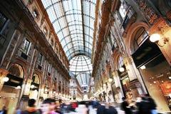 Passagem Vittorio em Milão Fotos de Stock Royalty Free