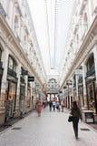 passagen shoppar till Royaltyfri Fotografi