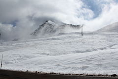 Passagens alpinas italianas Fotografia de Stock Royalty Free