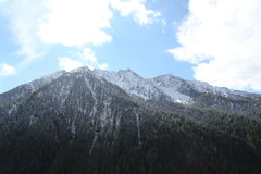 Passagens alpinas italianas Foto de Stock Royalty Free