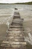Passagens de madeira velhas tempestade Fotos de Stock