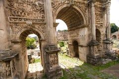 Passagens: Roman Forum fotografia de stock royalty free