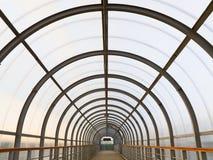 passageperspektiv Arkivfoto