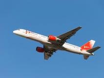 Passager Boeing 757-230 VIM Airlines Image libre de droits