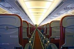 passager d'intérieur d'aéronefs Photographie stock