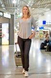 Passager féminin Photographie stock libre de droits
