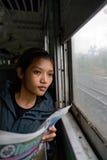 Passagerare arkivbild