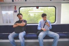 passagerare Arkivfoto