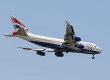 passagerare för brittisk stråle för flygbolag stor Arkivbilder